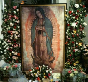 Miraculous Relic Image of Our Lady of Guadalupe