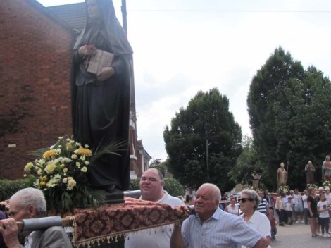 Procession of Saints, July 2017