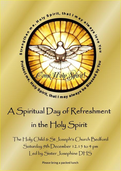 Refreshment Holy Spirit