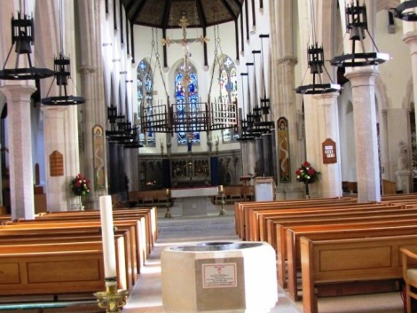 Plymouth Cathedral interior