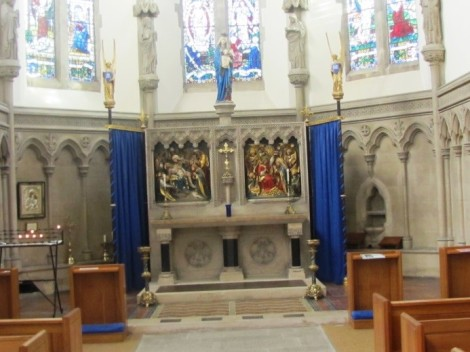Plymouth Cathedral Lady Chapel