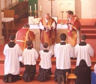 Caversham High Mass Communion